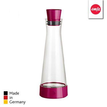 爱慕莎EMSA 冰凌缤纷系列玻璃保冷瓶 冷水壶 1.0L