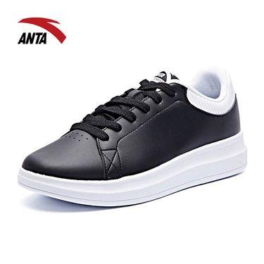 ANTA 男鞋2018冬季新款增高运动鞋潮休闲板鞋11748040-3