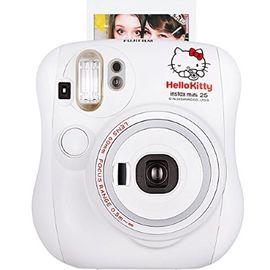 富士 FUJIFILM 趣奇checky instax mini25拍立得相机 白色Kitty限量版