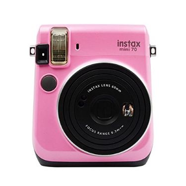 富士 FUJIFILM 趣奇checky instax mini70拍立得相机  粉色