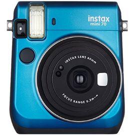 富士 FUJIFILM 趣奇checky instax mini70拍立得相机  冰晶蓝