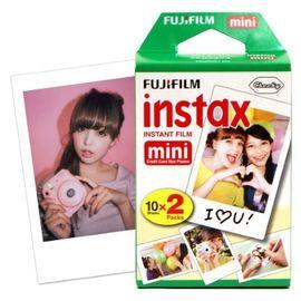 富士 FUJIFILM 趣奇checky instax mini 拍立得相纸 20张/盒 双包白