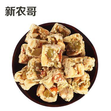 新农哥 什锦坚果五仁酥200g瓶糕点 点心 特产零食  坚果酥