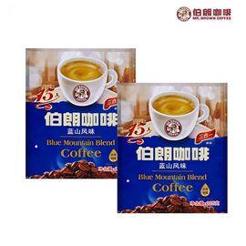 伯朗 台湾制造 咖啡蓝山风味速溶咖啡饮品(15g/包*15包)*2