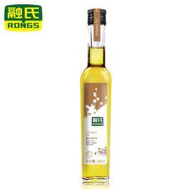 融氏    亚麻籽油  250ML/瓶 【物理压榨、原生态亚麻籽、富含α-亚麻酸】
