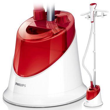飞利浦(Philips)挂烫机GC506/48家用1500w两档 石榴红