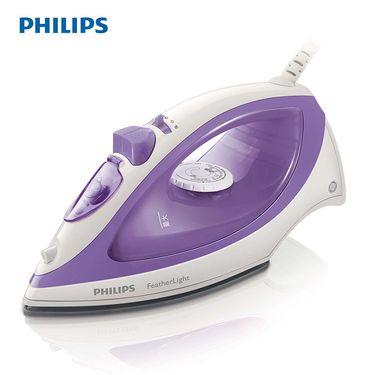 飞利浦(PHILIPS)电熨斗GC1418 蒸汽熨斗 电烫斗家用 紫色