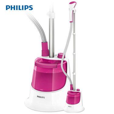 飞利浦(Philips)挂烫机GC501/98家用1500w(樱花粉)