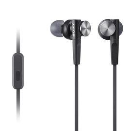 索尼(SONY) MDR-XB50AP 重低音系列 通话耳机兼容多种智能手机 支持iphone 黑色