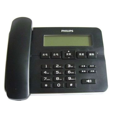 飞利浦 来电显示 电话机 CORD218 黑色
