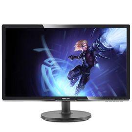 飞利浦(PHILIPS)216V6LSB2 20.7英寸 LED背光 16:9 全高清 智能色彩调节 电脑显示器 显示屏