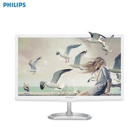 飞利浦(PHILIPS)246E6ESW 23.6英寸 16:9全高清 舒视蓝 抗蓝光爱眼 电脑显示器 显示屏