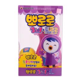 啵乐乐 Pororo 儿童香波护发素沐浴液三合一 400g 韩国进口 儿童洗发水 宝宝沐浴露洗发水