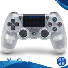 索尼 SONY PS4 原装国行游戏手柄 水晶金银水晶红蓝 新款透明