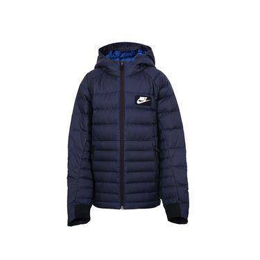 耐克 棉服大童冬季运动服连帽保暖运动休闲羽绒服856080  奇欢体育
