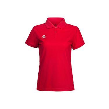 KELME卡尔美 夏季女式翻领T恤 运动POLO衫纯色 透气速干修身短袖K15F126
