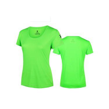KELME卡尔美 夏季女士运动短袖速干透气跑步T恤圆领超轻健身衣K16R2014W