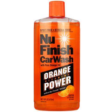 NuFinish洗车液/清洁液473ml汽车洗车液 橘色