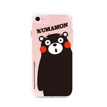 酷MA萌KUMAMON 熊本熊 iPhone 7/7Plus TPU空压气垫防摔软式手机壳