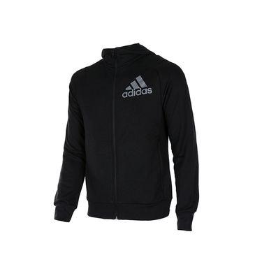 阿迪达斯 Adidas男外套新款春夏季连帽针织透气运动服休闲夹克AI7478