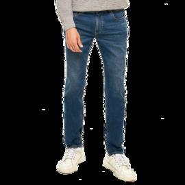 【严选】男式基础合体窄脚牛仔裤