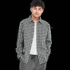 【严选】设计师款 男式森林绿家居衬衫