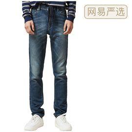网易严选 【严选】+12℃ 男式舒适加厚弹力牛仔裤