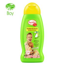德国进口达罗咪儿童洗发沐浴二合一男童洗发水2合1宝宝沐浴露正品
