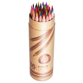 得力(deli)原木36色三角笔杆油性彩铅彩色铅笔秘密花园填色笔 桶装6553