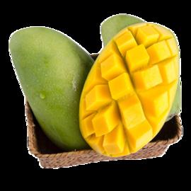 花果鲜 越南进口青皮芒果5斤装 新鲜水果 芒果 甜芒果