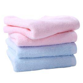梦特娇 Montagut素色面巾(随机发货) 纯棉成人洗脸毛巾全棉柔软吸水舒适简约