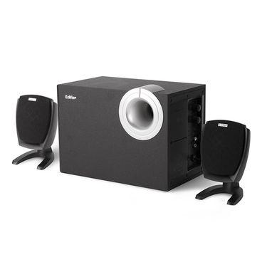 漫步者 EDIFIER R201T06 多媒体电脑音响 木质有源2.1低音炮 桌面音响
