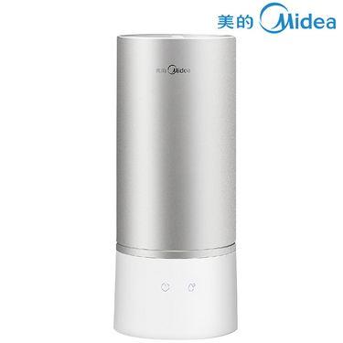 美的 加湿器 空气加湿器办公室迷卧室静音2.5L容量 满水状态可连续使用8小时 健康趋零辐射 SC-3A25 银色