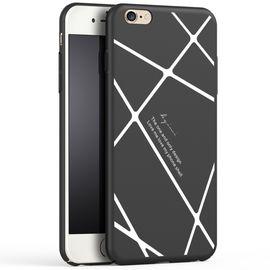艾芭莎 机伴iPhone6s手机壳/保护套 苹果iphone6splus全包磨砂条纹款