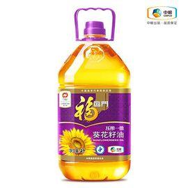 福临门 福临门 压榨葵花籽油 非转基因 健康食用油 物理压榨 4L