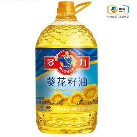 多力 葵花籽油5L 压榨食用油 非转基因食用油