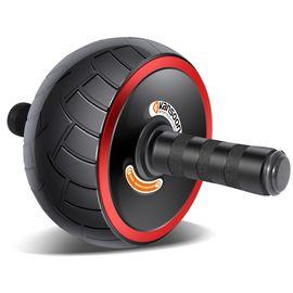 凯速 宽轮健腹轮腹肌轮健身器材赠护膝垫