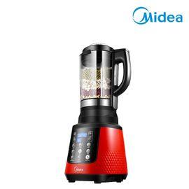美的 料理机 多功能加热破壁机智能预约全自动 WBL8005P 红色