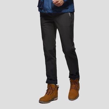 伯希和 PELLIOT户外冲锋软壳裤 男女秋冬防风透气抓绒保暖登山长裤