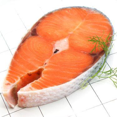 一统海鲜智利进口三文鱼(中段)300g/袋*6袋
