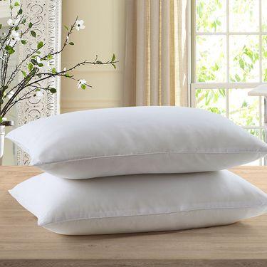 罗莱 舒棉羽丝情侣对枕全棉舒柔呵护情侣枕两只装