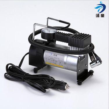 靖童 金属车载充气泵便携单缸充气泵