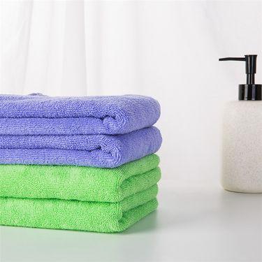 金号织业 马卡龙系列  强吸水 无甲醛 挂式 3条毛巾 PP袋装
