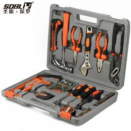 圣德保罗 43件套礼品型工具组合 家用车用五金手动维修工具箱SD-010