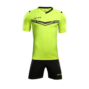卡尔美 KELME卡尔美 足球服套装男成人短袖 组队球衣正品比赛服定制队服KMC160031