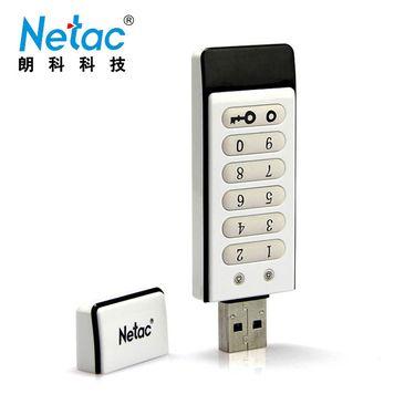 朗科 Netac U618 数字按键式 256位AES硬件加密u盘 16GB