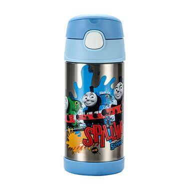 膳魔师 儿童卡通不锈钢真空吸管保温杯F4011系列  多色可选