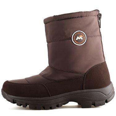 悍途/HUMTTO 冬季高帮女款加绒雪地靴 新款保暖防滑棉鞋8608 DH14WS