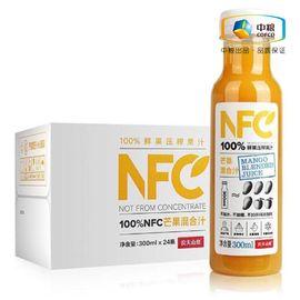 农夫山泉 100%NFC芒果混合汁 300ml*24