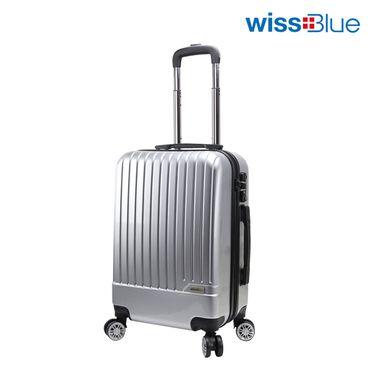 维仕蓝 wissBlue B717 20寸时尚登机拉杆箱(银色、金色随机发货)送双肩包(两款背包随机发送)